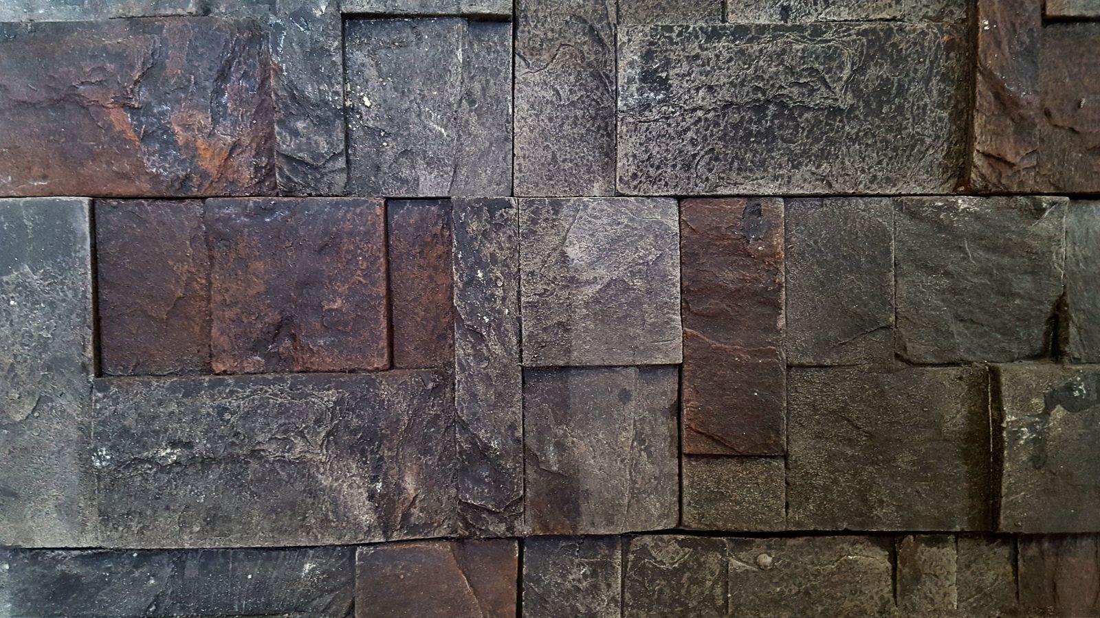 Rodos Black artificial stones