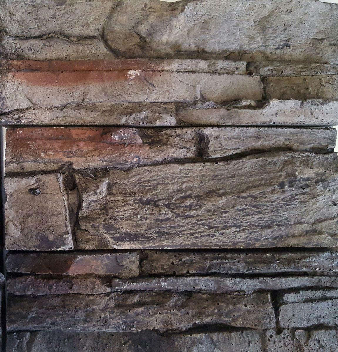 Crete Black artificial stones