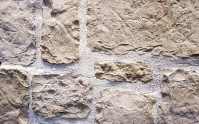 Afitos White artificial stone